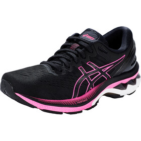 asics Gel-Kayano 27 Shoes Women, black/pink glo